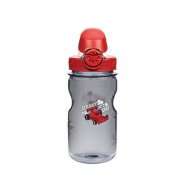 Nalgene Everyday OTF Kids Trinkflasche 350ml Rennauto grau